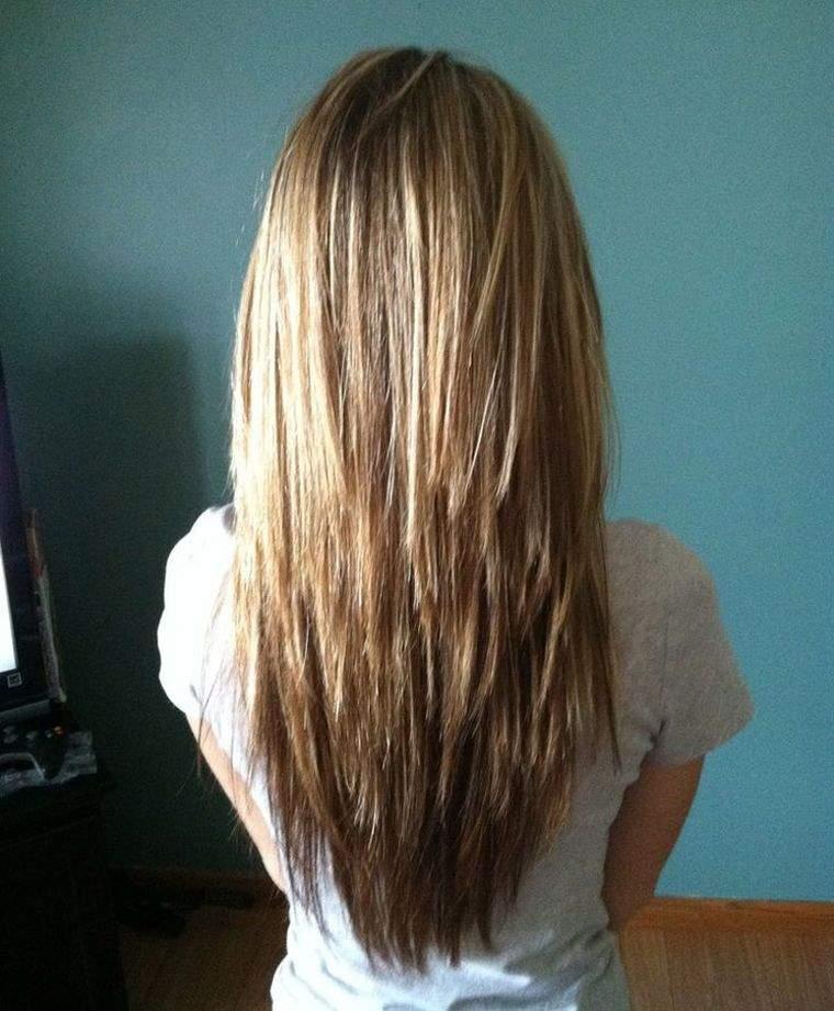 Coupe Cheveux D 233 Grad 233 Mi Long Femme Coiffure Simple Et