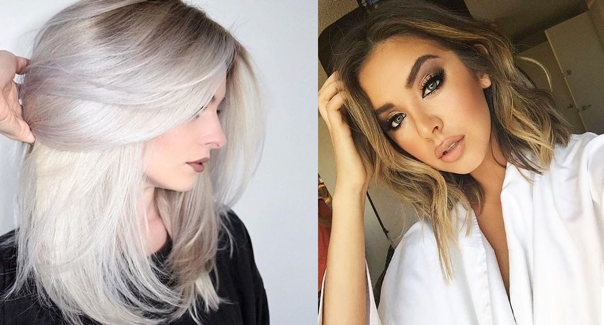 Coupe cheveux mi long | Coiffure simple et facile