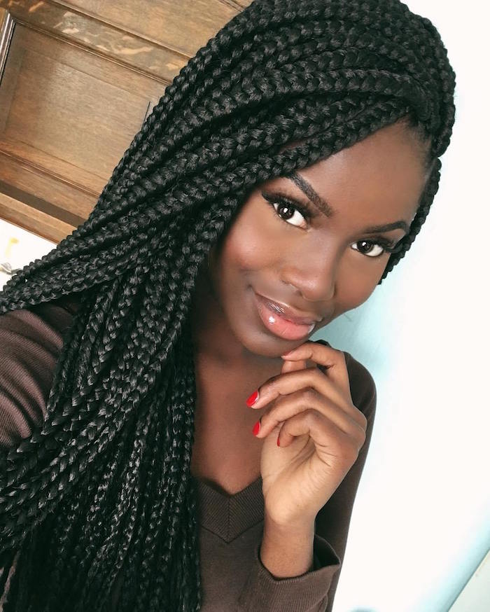 Tresse Africaine Coiffure Simple Et Facile