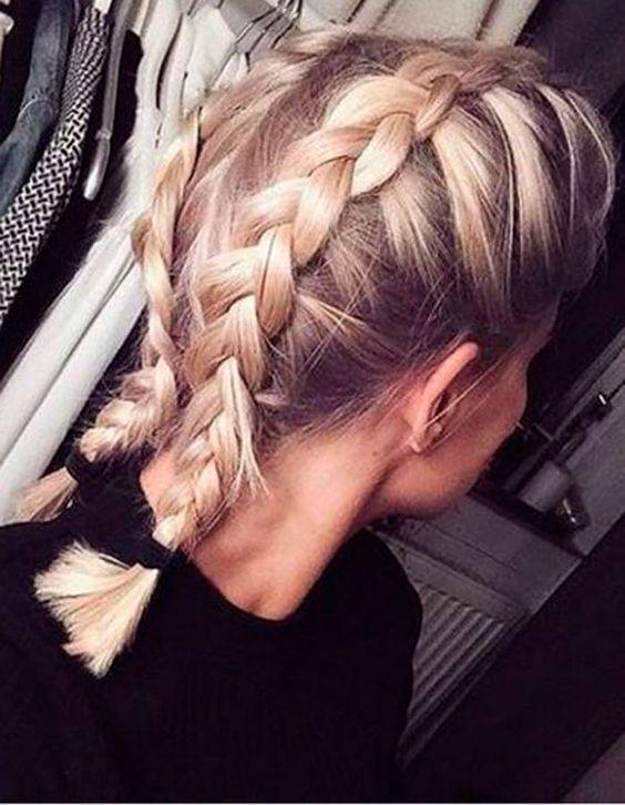Tresse Cheveux Mi Long A Faire Soi M 234 Me Coiffure Simple