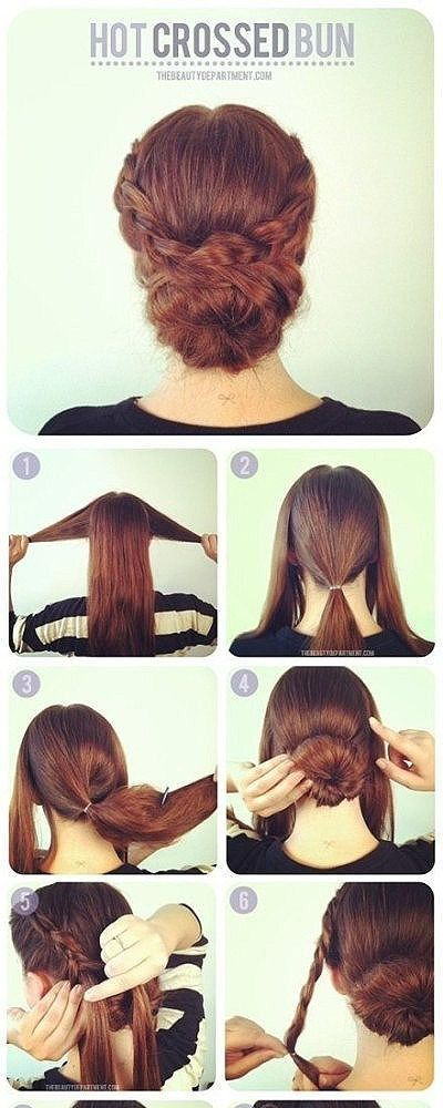 Tuto coiffure mariage cheveux long coiffure simple et facile - Tuto coiffure mariage ...