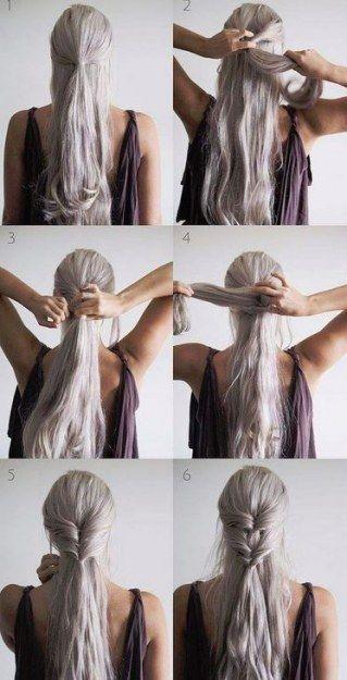 Tuto Coiffure Mariage Cheveux Long Coiffure Simple Et Facile