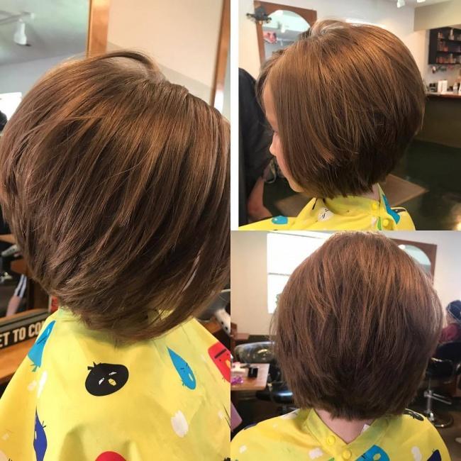Coupes Cheveux Modernes Petite Fille 2018 Coiffure