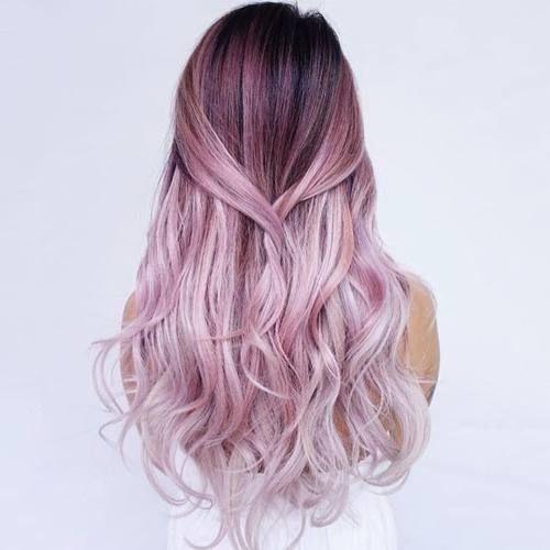 Ombre Hair Couleurs Cheveux Tendance Automne Hiver 2018