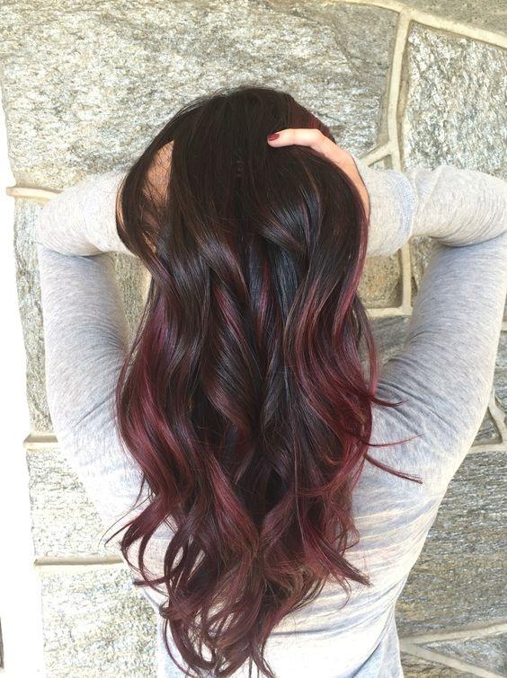 ombre hair :couleurs cheveux tendance automne /hiver 2018 ...