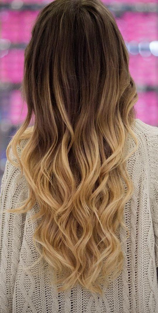 ombre hair couleurs cheveux tendance automne hiver 2018 2019 coiffure simple et facile. Black Bedroom Furniture Sets. Home Design Ideas