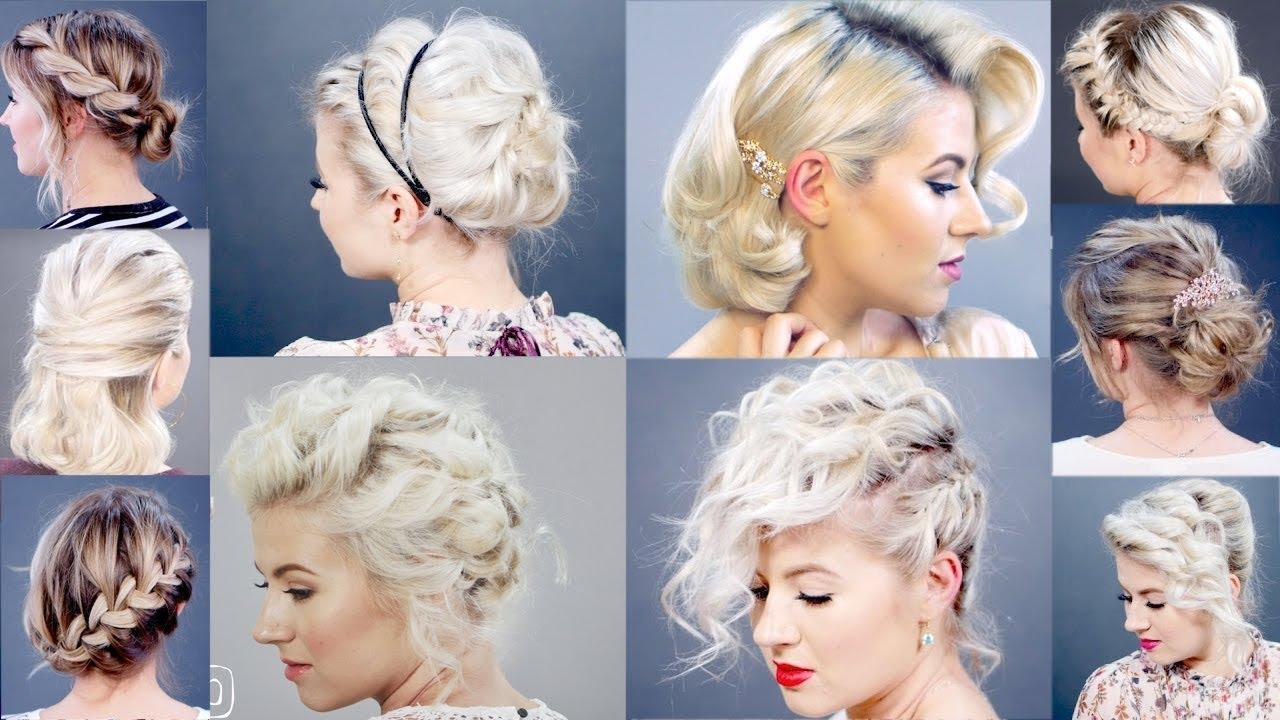 1 Hairstyles For Short Hair: Coiffure Facile Cheveux Court A Faire Soi-même