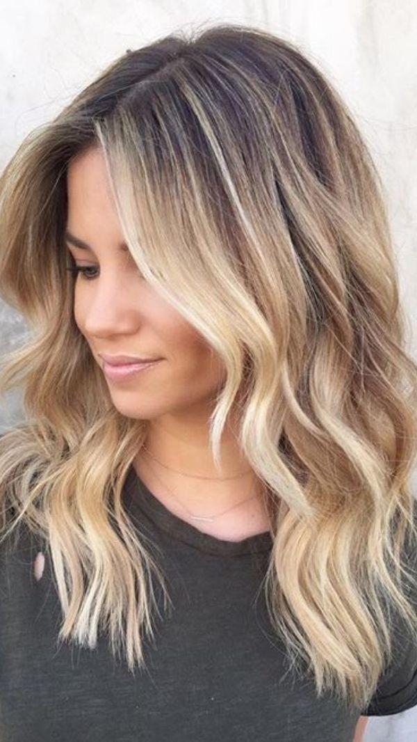 Coupes et cheveux mi-longs : des idées pour s'inspirer | Coiffure simple et facile