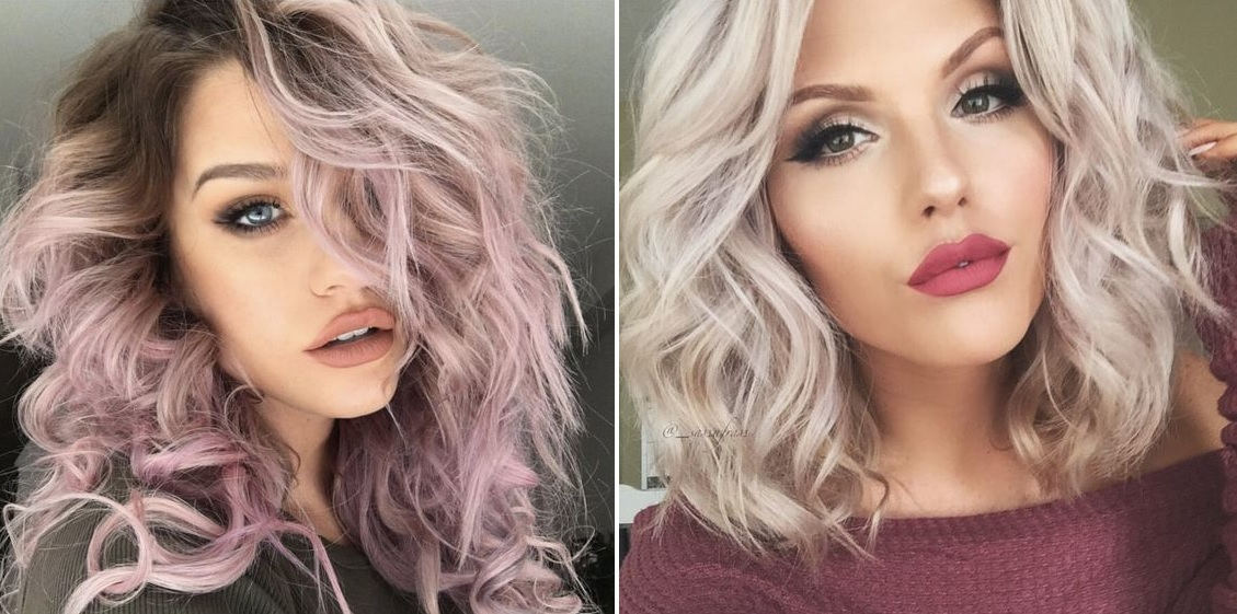 Hair Color Ideas For Short Hair 2017: Vanille Lila : La Couleur Tendance Automne Hiver 2018