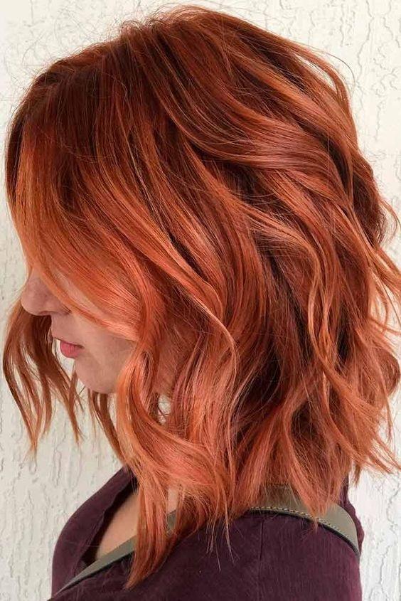 Copperhair La Couleur Cheveux Tendance Cette Saison