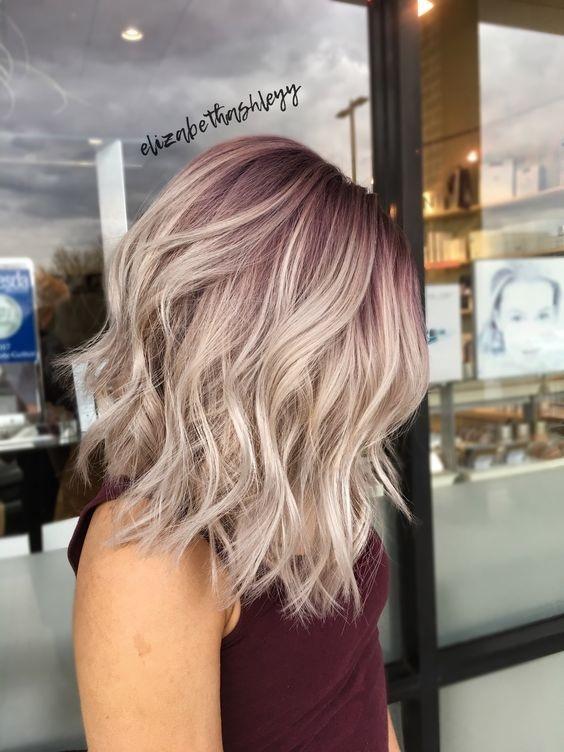 Vanille lila la couleur tendance Automne Hiver 2018
