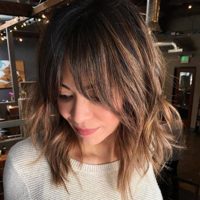Les Plus Belles Colorations Cheveux Hiver 2018 2019