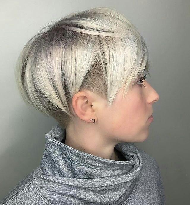 Der kurze Haarschnitt: ein unendlicher Charme! der Beweis im Bild