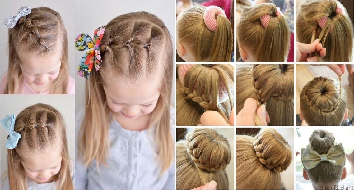 Dans ce post nous mettons à votre disposition 10 magnifiques tutos coiffure  petite fille pour cérémonies, inspirez vous .