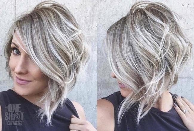 coupes cheveux milongs tendance 2019 coiffure simple et