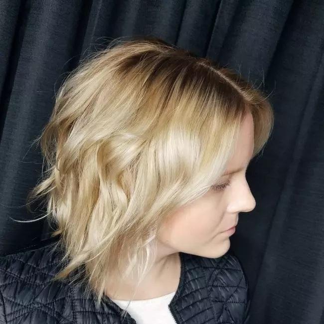 Coupes cheveux mi-long Pour Femmes : Modèles 2019   Coiffure simple et facile