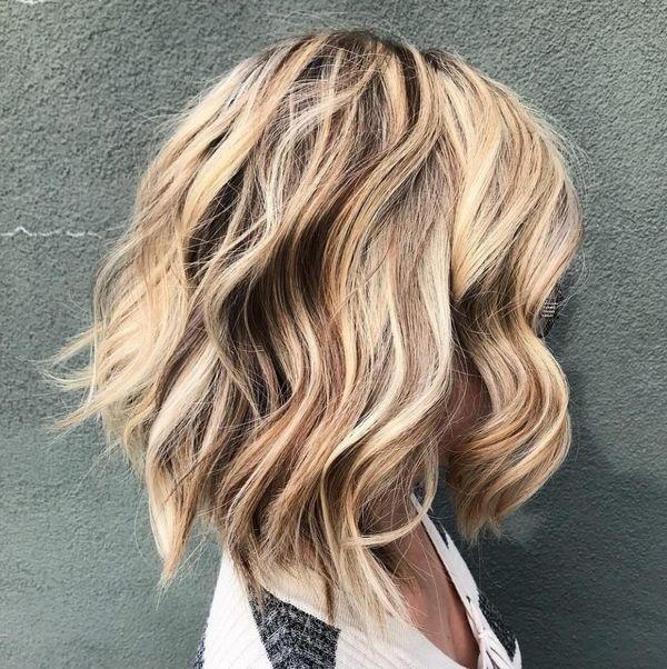 Coupes cheveux courts et mi-longs meilleurs tendance 2019 | Coiffure simple et facile