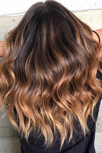 Ombr hair marron les plus beaux modles piquer