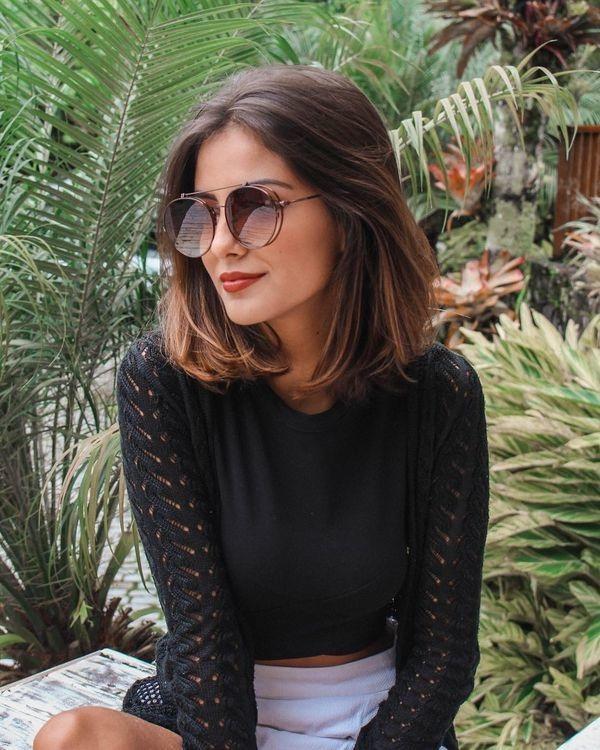 Coiffures cheveux mi-longs 2019 | Coiffure simple et facile
