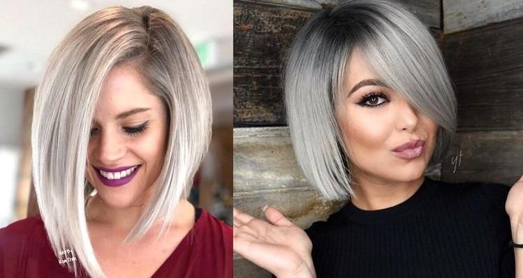 Coupes cheveux visage rond 2020   Coiffure simple et facile