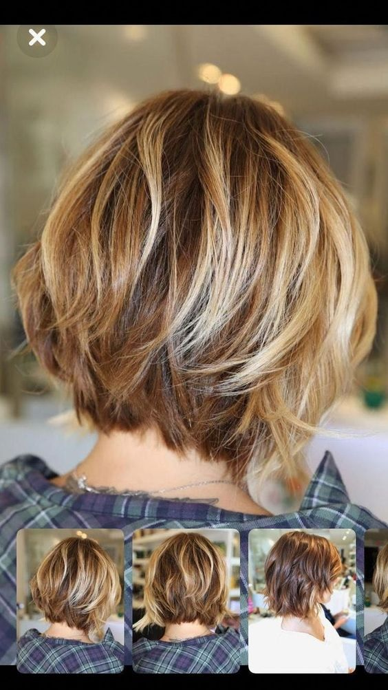 30 Coupes cheveux courtes et mi longues dégradées | Coiffure simple et facile