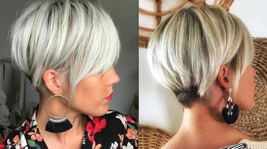 Coupes courtes blondes pour cet été : 20 modèles qui coupent le souffle | Coiffure simple et facile