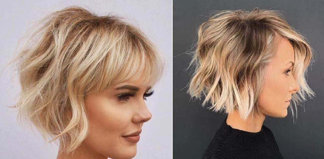 Coupes courtes pour les cheveux fins | Coiffure simple et facile